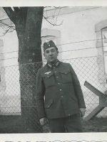 1940 Emmerich Arleth als Rekrut in Biedermannsdorf