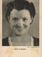 Autogrammkarte Maria Andergast 10