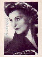 Autogrammkarte Maria Andergast 11
