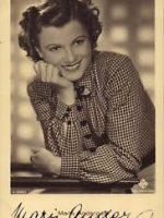 Autogrammkarte Maria Andergast 13