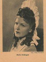Autogrammkarte Maria Andergast 14