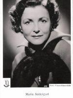 Autogrammkarte Maria Andergast 16