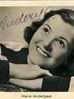 Autogrammkarte Maria Andergast 8