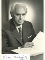Babinski mit Unterschrift