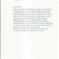 Brief Arleth an Berg vom 21.08.1964