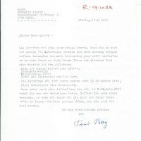 Brief Berg an Arleth vom 12.10.1983 – 1