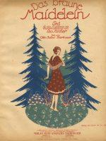 Das braune Maidelein (1919)