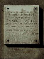 Emmerich Arleth Gedenktafel