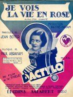 Je vois la vie en rose (1931)