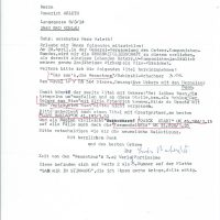 Korrespondenz 02.04.1989