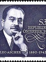 Leo Ascher Briefmarke