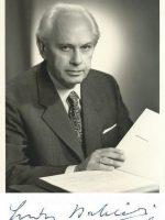 Ludwig Babinski mit Autogramm