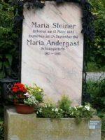 Maria Andergast Grabstätte