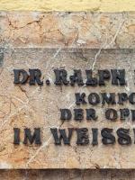 Ralph Benatzky Gedenktafel Rössl