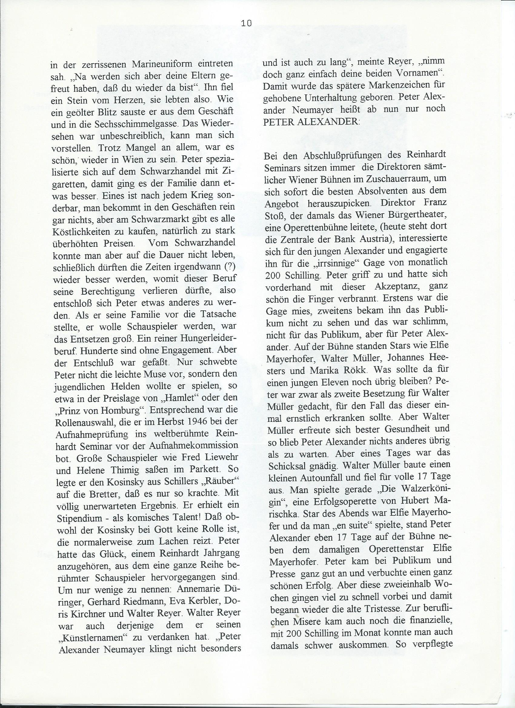 Schalldose Nr 62 1996 – 10