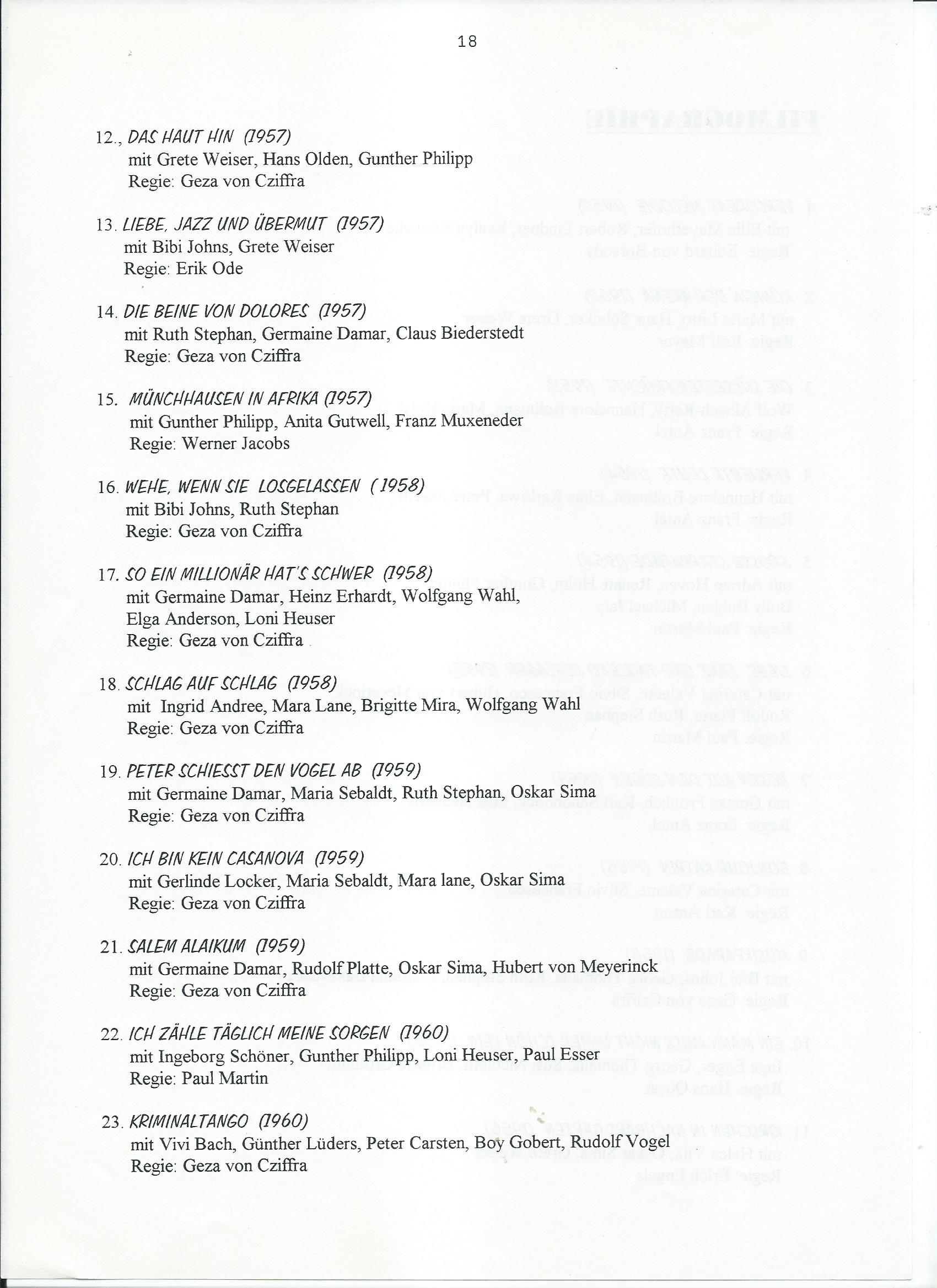 Schalldose Nr 62 1996 – 12