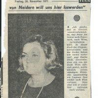 unbekannt 26.11.1971 – 1
