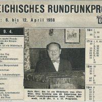 Österreich Illustrierte 09.04.1958