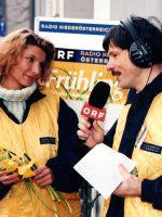 1997 Radio NÖ Live-Bericht mit Nadja Mader