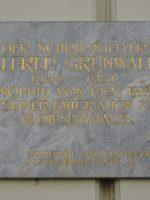 Alfred Grünwald Gedenktafel