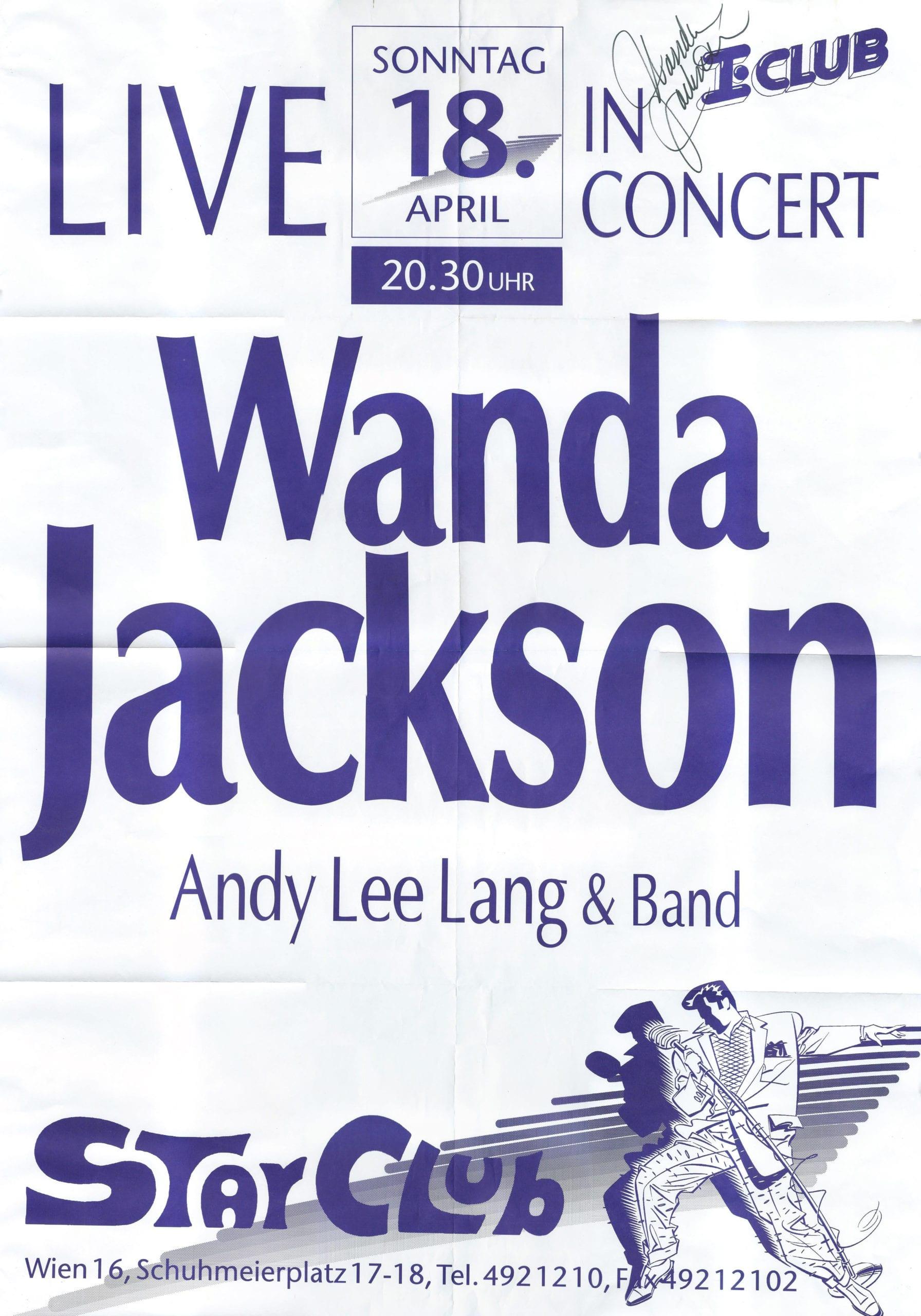 Andy Lee Lang – Wanda Jackson
