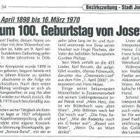 Bezirkszeitung Nr. 1998