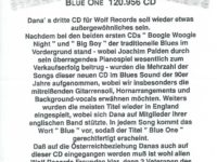 Blues News – Blue One – 1