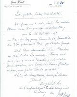 Brief Bredl an Arleth vom 02.09.1980