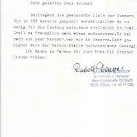 Brief Denner an Arleth 20.07.1982 – 1