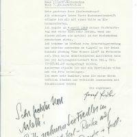 Brief Fiedler an Wochenschau 13.02.1968 – 1