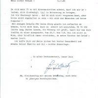 Brief Hans Neroth an Arleth 10.07.1988