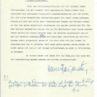 Brief Hauenstein an Arleth 29.01.1957