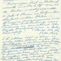 Brief Herz an Arleth – 31.07.1957 – 1