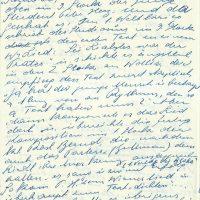 Brief Herz an Arleth – 31.07.1957 – 2