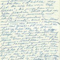 Brief Herz an Arleth – 31.07.1957 – 4