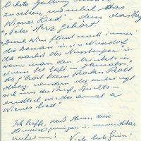 Brief Herz an Arleth – 31.07.1957 – 6