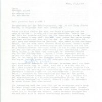 Brief Hesik an Arleth 27.02.1984 – 1