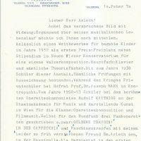 Brief Karger an Arleth 10.02.1970 – 1