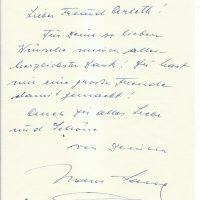 Brief Lang an Arleth 06.07.1958
