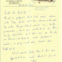 Brief von Carl an Arleth 06.07.1984