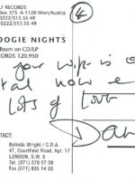 Dana Gillespie Autogrammkarte 4 – 2