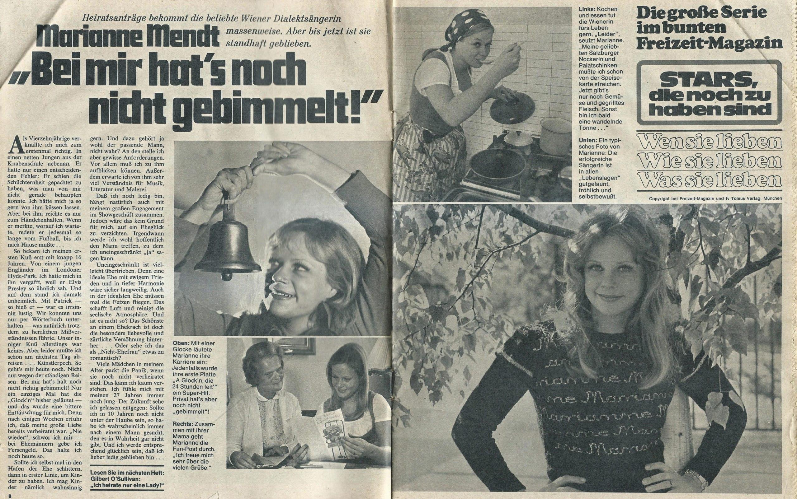 Das bunte Freizeitmagazin 22.07.1974