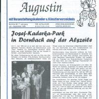 Der liebe Augustin Juli-Sept 1999 – 1