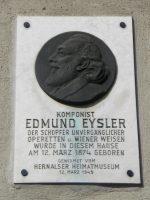Edmund Eysler Gedenktafel Geburtshaus