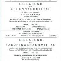 Einladung 19.01.1992