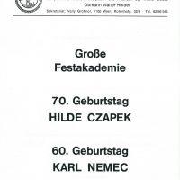 Einladung 24.11.1991 – 1