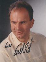 Erich Zib mit Unterschrift