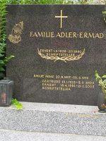 Ernest Adler Grabstätte