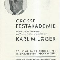 Etablissement Gschwandner 25.10.1936 – 1