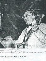 Franz Bileck mit Unterschrift